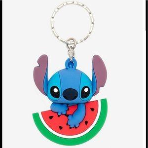 Loungefly Disney Stitch Watermelon Keychain